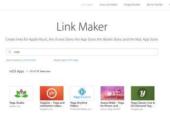 Layanan iTunes Link Maker Mulai Mendukung tvOS App