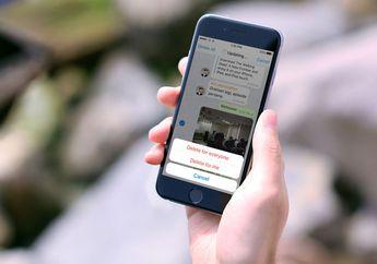 Telegram Messenger Terbaru Rilis Fitur Hapus Pesan dan Pemakaian Internet