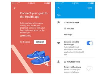 Google Calendar Tambahkan Integrasi ke Apple Health