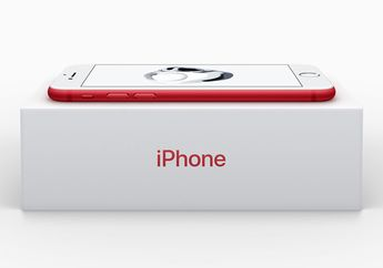 Apple Resmi Rilis iPhone 7 dan iPhone 7 Plus (PRODUCT)RED