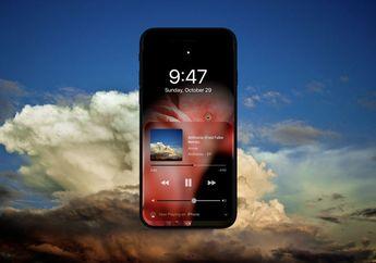 (Konsep) Layar OLED & Dark Mode Bikin iPhone 8 Ini Nyaris Tanpa Bingkai