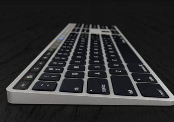 Apple Magic Keyboard Masa Depan Bakal Punya Touch Bar & Touch ID