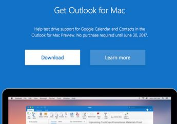 Microsoft Bagikan Outlook for Mac, Ujicoba Integrasi Google Calendar