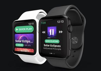 Spotify Segera Hadir di Apple Watch Lewat Aplikasi Snowy