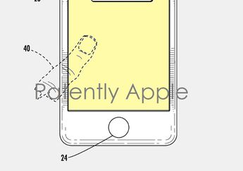 Apple Kantongi Paten Layar Edge-to-Edge dan Touch ID di Layar