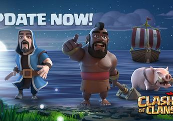 Update Clash Of Clans Paling Dinanti Akhirnya Rilis!