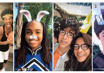 Instagram Rilis Fitur Face Filter, Rewind dan Hashtags Sticker