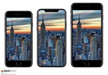 Beredar Luas Ukuran Dimensi iPhone 8 vs. iPhone 7 dan Galaxy S8