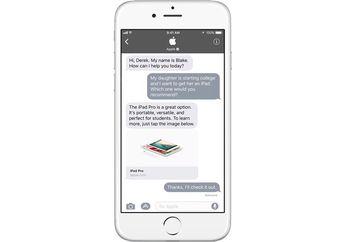 Apple Merilis Business Chat di iMessage iOS 11