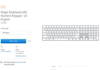 Apple Rilis Wireless Magic Keyboard dengan Keypad Numerik