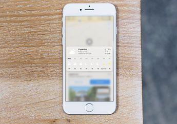 Cara Cek Ramalan Cuaca Lewat Apple Maps di iPhone