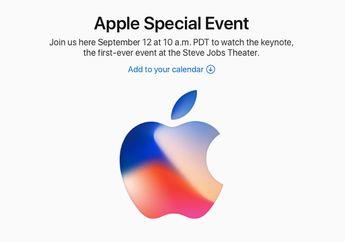 Cara Nonton Live Streaming Apple Event September 2017 di Mac, iOS dan Apple TV