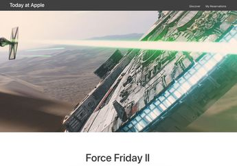 Apple Gelar 'Today at Apple' dengan Tema Star Wars