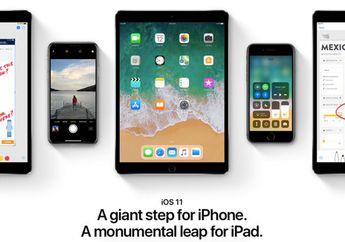 48 Persen Pengguna Sudah Adopsi iOS 11 Lampaui iOS 10 di Pekan Ketiga