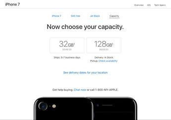 Apple Kini Jual iPhone 7 & iPhone 7 Plus Jet Black 32GB