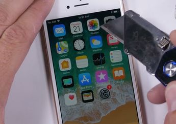 (Video) Rupa iPhone 8 Usai Lewati Uji Gores dan Bengkok