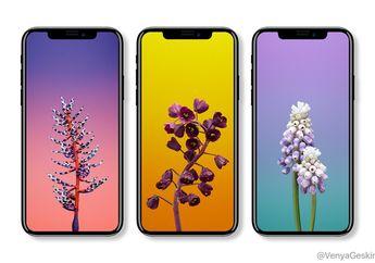 4 Hal Penting yang Bocor di iOS 11 GM: Wallpaper Baru, Apple Watch LTE, Face ID, iPhone X