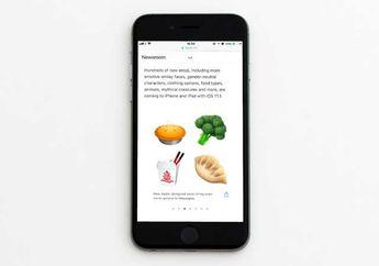 (Galeri) Apple Pamerkan Katalog Emoji Baru untuk iOS 11.1 Beta 2