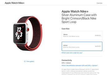Apple Watch Nike+ Series 3 Resmi Diluncurkan di Sejumlah Negara