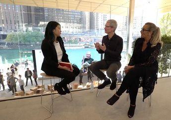 Angela Ahrendts Dirumorkan Bakal Jadi Bos Apple, Ini Kata Tim Cook