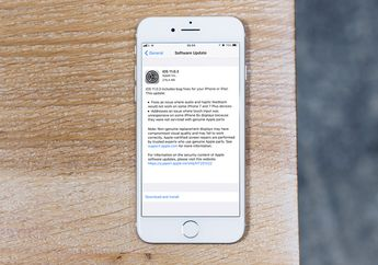 Apple Rilis iOS 11.0.3 dengan Perbaikan Penting untuk iPhone 6s