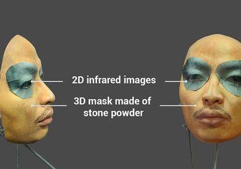 (Video) Face ID Bisa Kenali Topeng 3D dari Bubuk Batu & Mata Inframerah 2D