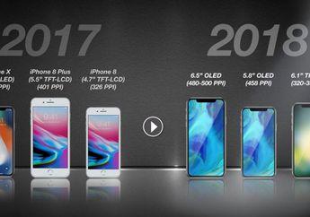 iPhone 2018 Bakal Dilengkapi LTE Super Kencang & Dual-SIM Dual-Standby
