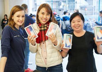 Di Pekan Pertama, Tingkat Adopsi iPhone X Libas iPhone 8