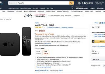 Amazon Resmi Jualan Apple TV