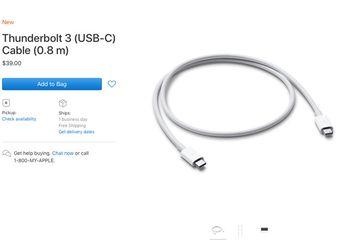 Kabel Thunderbolt 3 Merek Apple Resmi Tersedia di Apple Store