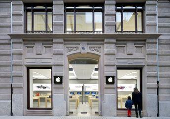 Baterai iPhone di Toko Apple Spanyol Juga Meledak