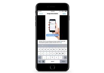 Cara Membuat Deskripsi Gambar di Twitter for iOS