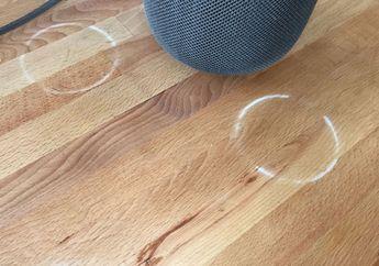 HomePod Tinggalkan Tanda Putih di Permukaan Kayu, Ini Kata Apple