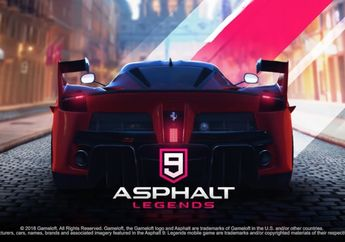 Review Asphalt 9: Legends, Game Balap Arkade Legendaris Dengan Kendali Baru