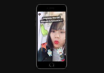 Fitur GIF Sticker di Instagram Stories Kembali Tersedia