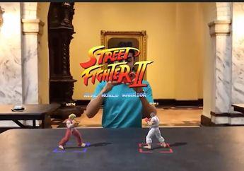 (Video) Bermain Street Fighter dengan Teknologi ARKit