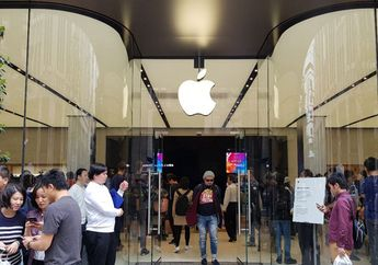 Liputan Pembukaan Apple Store Shinjuku di Jepang