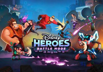Disney Dan Pixar Mengenalkan Game ARPG Miliknya Yang Berjudul Disney Heroes – Battle Mode