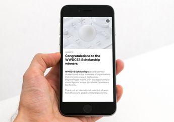 Apple Promosikan Katalog Aplikasi dari Peserta Beasiswa WWDC 2018