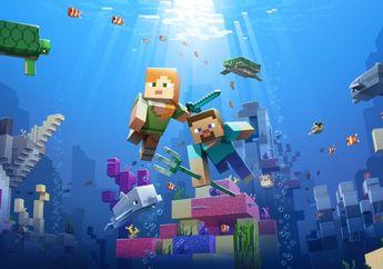 Petualangan Bawah Air Datang Di Pembaruan Terbaru Minecraft, Hadir Untuk iOS, Android, Dan Nintendo Switch