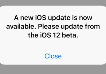 Kenapa Notifikasi Update iOS 12 Beta Muncul Terus Menerus? (Update)