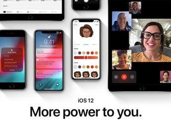Tingkat Adopsi iOS 12 Mencapai 46%, Libas Jumlah Pengguna iOS 11