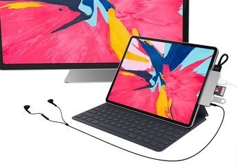 HyperDrive for iPad Pro, Adapter USB-C Paling Lengkap untuk iPad