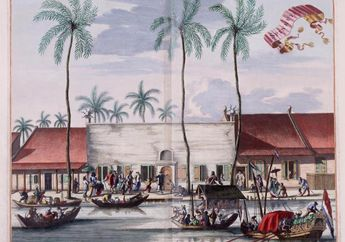 Saatnya Gulungan Arsip VOC Ungkap Losmen Lampu Merah di Batavia