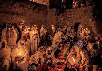 Perayaan Paskah Ortodoks Etiopia