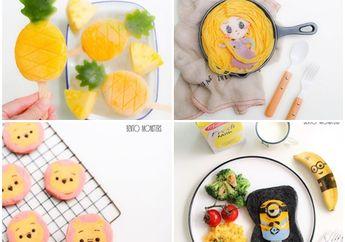 Anak Susah Makan? Buatkan Makanan dengan Bentuk Unik Ini Saja