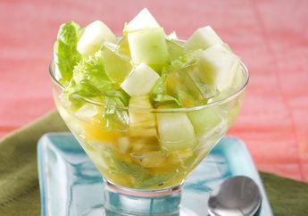 Setengah Jam Sama Menyajikan Salad Buah Nikmat untuk Kumpul Keluarga