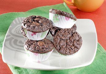 Mau Camilan Mudah Dibuat dan Irit Bahan? Cup Cake Cokelat Biskuit Ini Jawabannya