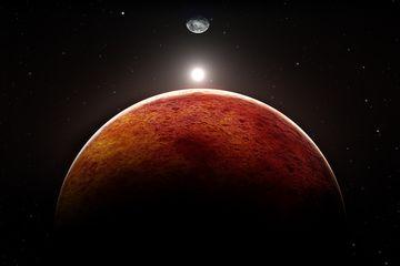 Bukit Pasir Purba Ditemukan di Mars, Seperti Apa?