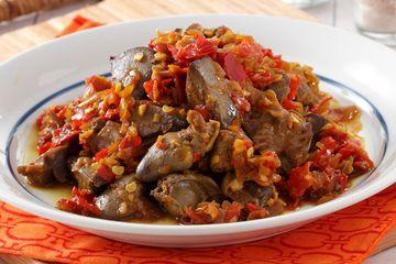 Ati Ampela Masak Pedas Hidangan Sederhana Yang Punya Kelezatan